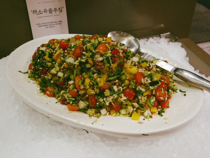 seasons table seoul healthy salad