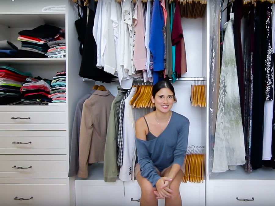 Bon Minimalist Living: Organizing Your Closet Part 1